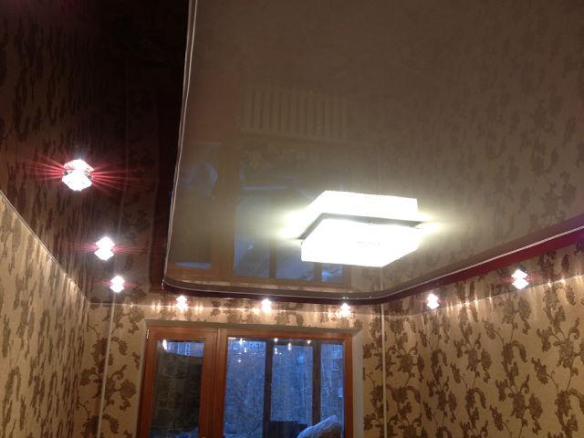 натяжные потолки фото установка цена двухуровневые тканевые в Нижнем Новгороде