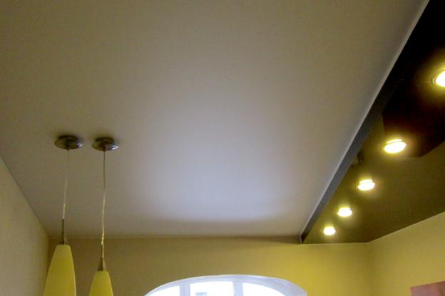 натяжные потолки фото цена установка