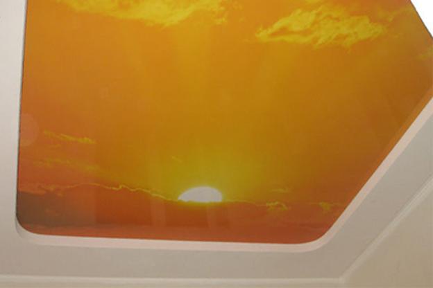 натяжные потолки фото установка цена двухуровневые матовые тканевые