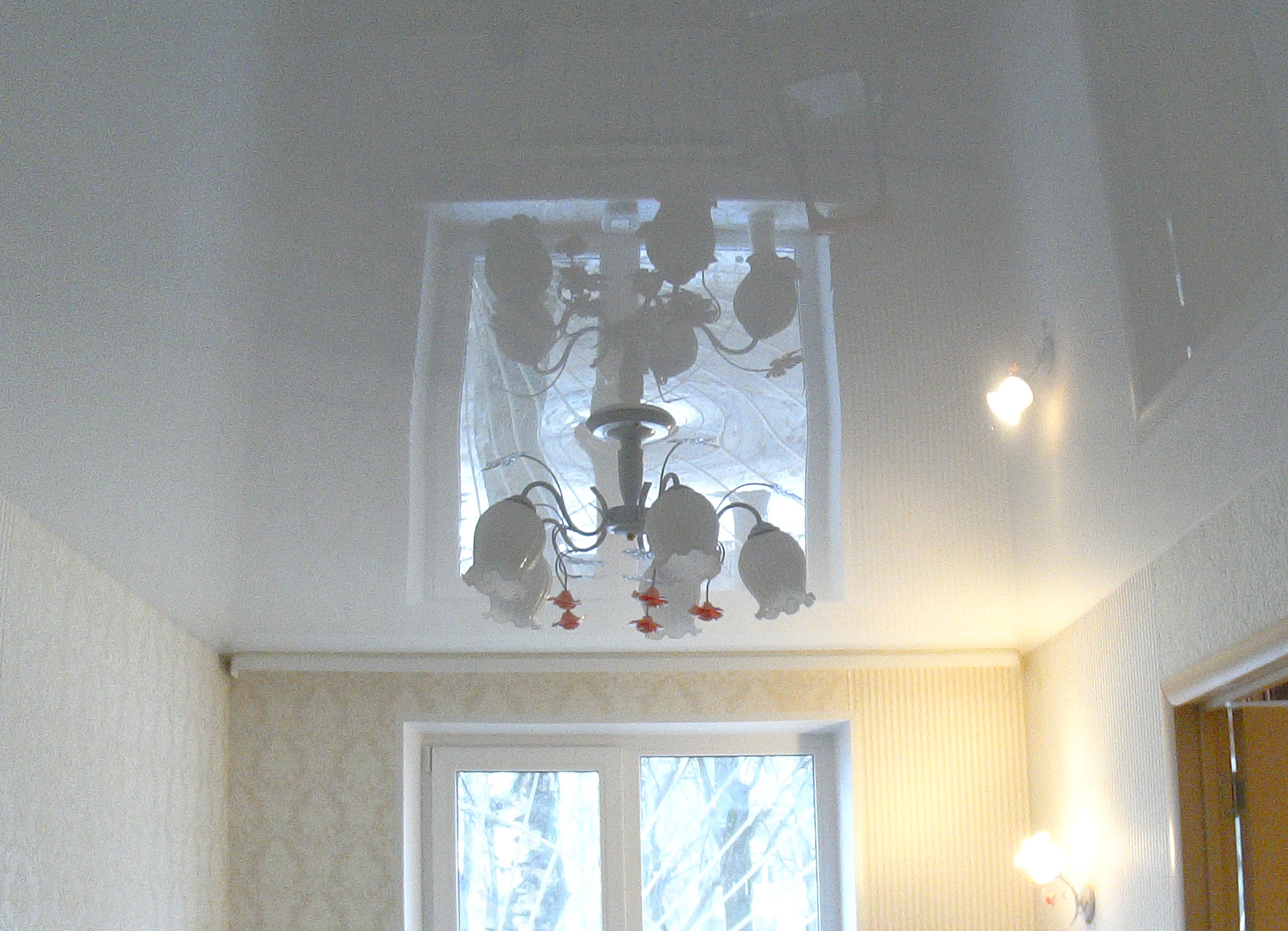 натяжные потолки фото глянцевые двухуровневые тканевые дизайн в Нижнем Новгороде