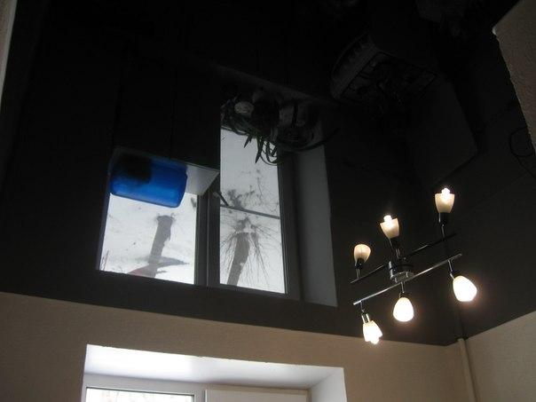 натяжные потолки фото глянцевые двухуровневые тканевые в Саратове