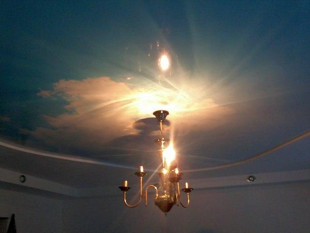 нетяжные потолки в Тольятти, монтаж фото цена