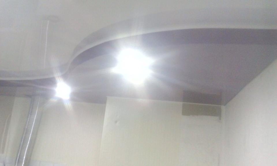 натяжные потолки в Ульяновске фото монтаж цена установка двухуровневые