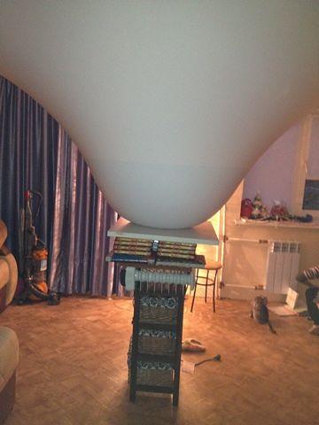 натяжные потолки фото глянцевые двухуровневые тканевые дизайн в Самаре