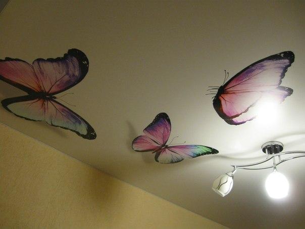 натяжные потолки фото глянцевые двухуровневые тканевые дизайн матовые в Саратове