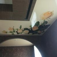 Двухуровневые натяжные потолки Ремонтика