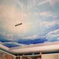 Натяжные потолки Ремонтика  для детской комнаты