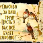 Благодарность от Клиента Малкина Людмила (г. Ульяновск)