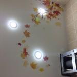 Цветной натяжной потолок Самара. Отзыв от Клиента  Филатова И.В.
