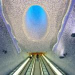 10-ка самых необычных потолков